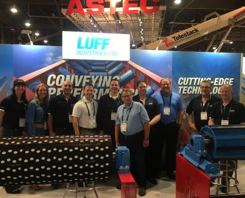 Divine Team at the 2017 Con Ag Show in Las Vegas supporting our Manufacturers in their booths!