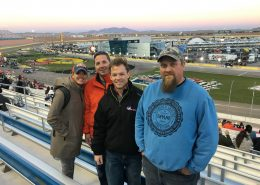 Team Building at the Nascar Race